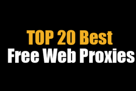 20 Best Free Web Proxies