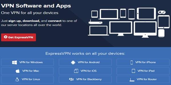 ExpressVPN Apps