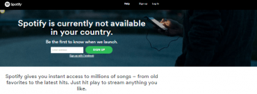 Access Spotify outside US