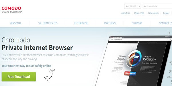 Chromodo Private Internet Browser