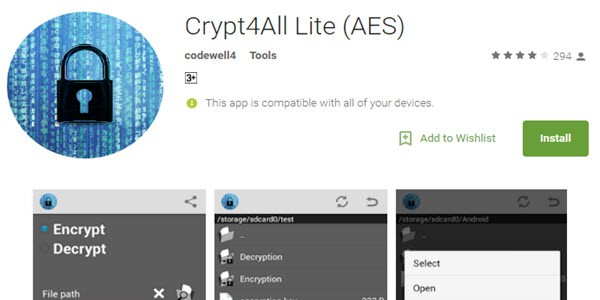 Crypt4All Lite