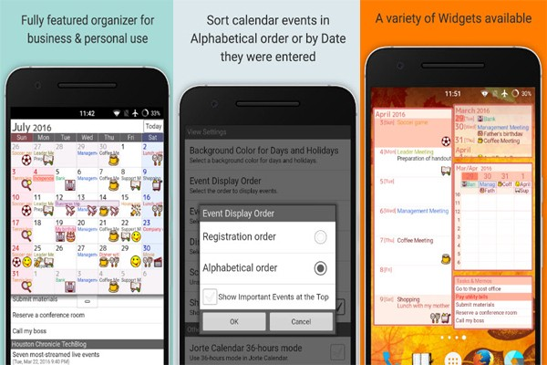 Best Calendar Organization App : Best android calendar apps to be better organized