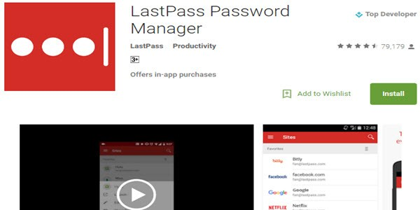 LastPass Manager