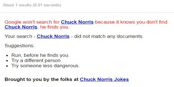 Chuck Norris trick