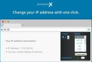AnonymoX_Pandora_outside_US
