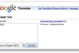 Google Translate accurate translations