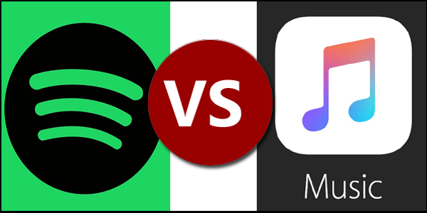 Spotify vs. Apple