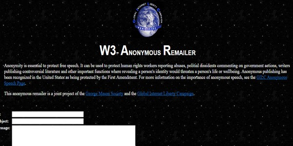 w3-anonymous-remailer
