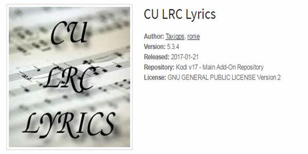 CU LRC Lyrics