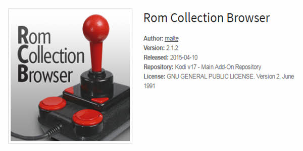 Rom Collection Browser