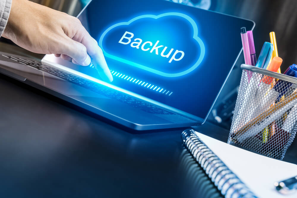 Restore files from laptop