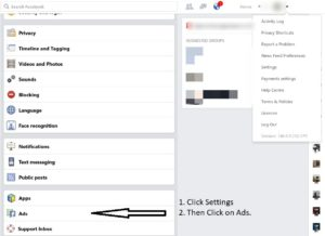 How to modify your add preferences on facebook.