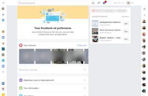 Manage Fcebook Ad preferences.