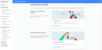 Control your content on Google.