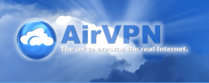 Air VPN logo sreenshot.