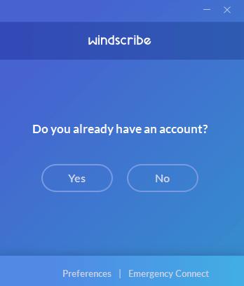 Windsribe VPN account.