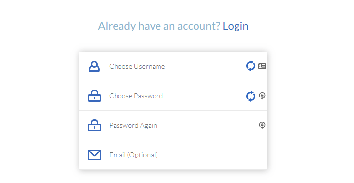 Windscribe VPN account information.