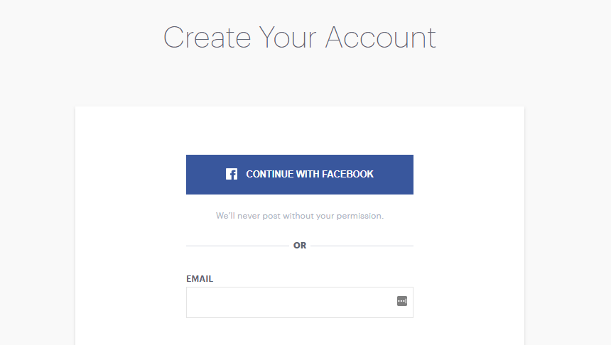Connect Huku account with Facebook.