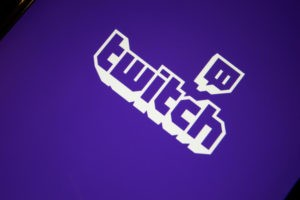 Close-up shot of the Twitch Live Game Streaming mobile app from Twitch Interactive, Inc