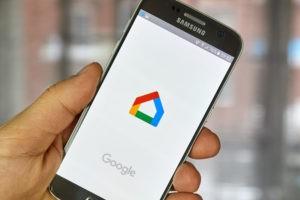 Google Home app on smart phone.