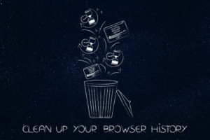 Delite or clear browser history.