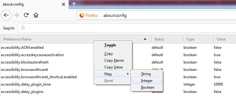 Inter Value Mozilla Firefox.