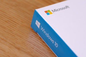 Microsoft Windows 10 Box