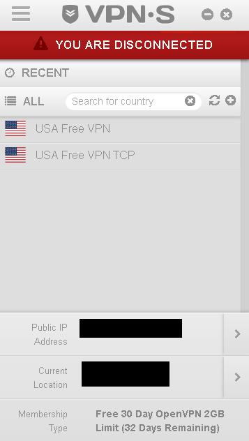 Register VPN