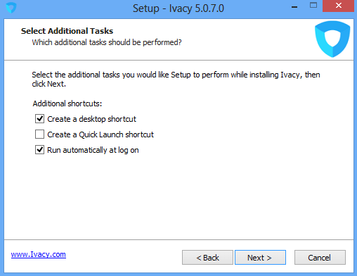 Ivacy Installation Setup, Additional Tasks