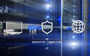 VPN encrypted connections.