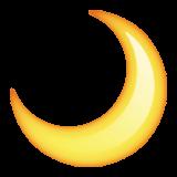 The moon emoji