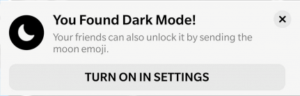 Welcome to dark mode on Facebook Messenger