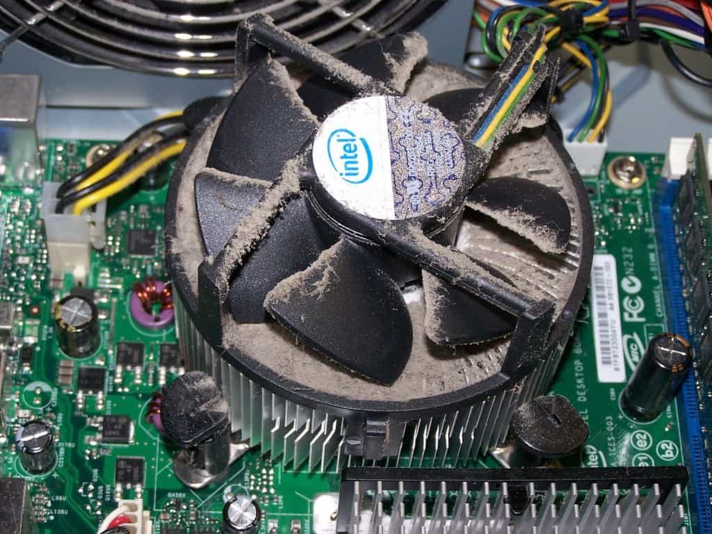 CPU Fans need some cleaning too.