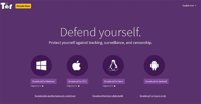 An image featuring how to install the Tor browser on Windows step1