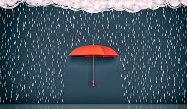 an image with umbrella concept of security